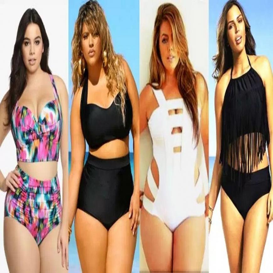 61f506013 9 estilos modernos de trajes de baño para mujeres plus size